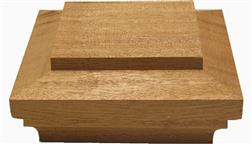 4x4_5x5_6x6_7x7_8x8_Mahogany_Deck_Fence_Post_Caps_Decking_Top_Fence_Capping_Mahogany_Wood_Island_Flat_Top_Post_Cap