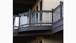 DeKor_Perfect_Panel_Curved_Deck_Railing_Gorgeous_Deck_Dark_Wood_LED_Low_Voltage_Thick