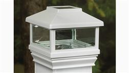 Deckorators_CXT_Solar_Post_Cap_4x4_Lighted_Cap_4-5-8_Inch_White